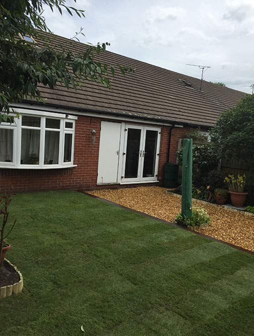 Garden Care - A low maintenance rear garden